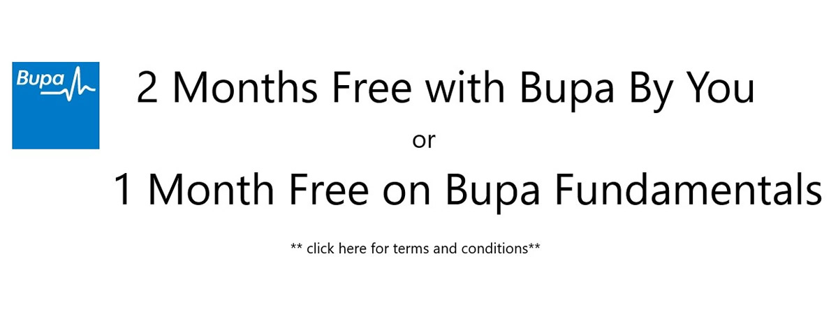 Bupa 2 Months' Free 3 Oct 2017